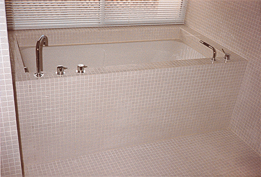 Salle de bain for Carreaux de briare