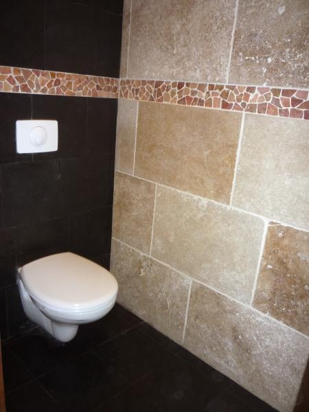 Salle de bain Travertin salle de bain